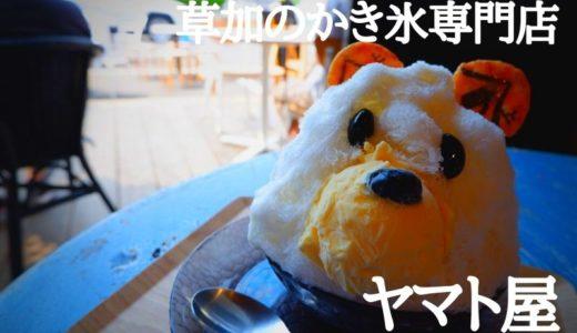 【草加】絶品!草加初のかき氷専門店「ヤマト屋」でかき氷の新常識と出会う