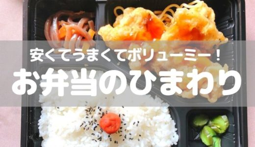 【草加】うまくて安くボリューム満点!「ひまわり」の弁当がコスパ最高すぎる!